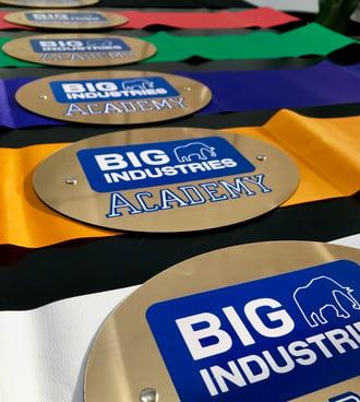 Big Industries Academy Belts
